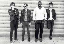 Strange Hotel, featuring Frank Abreau Salazar (left), Sean Reilly, Tim Aristil and Myles Deiaco, melds indie rock, soul and prog rock.
