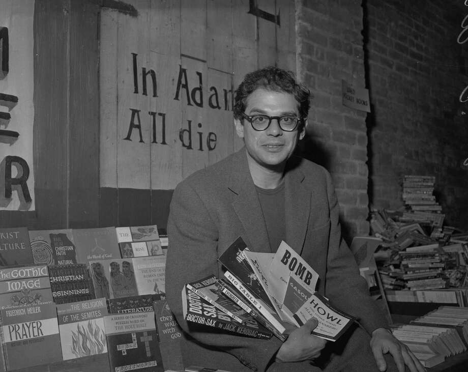 Allen Ginsberg, 1959. Photo: Joe Rosenthal / The Chronicle / ONLINE_YES
