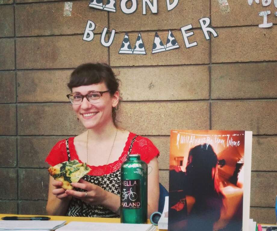 Amy Berkowitz runs Mondo Bummer, which publishes poetry. Photo: Alexandra Naughton / ONLINE_YES