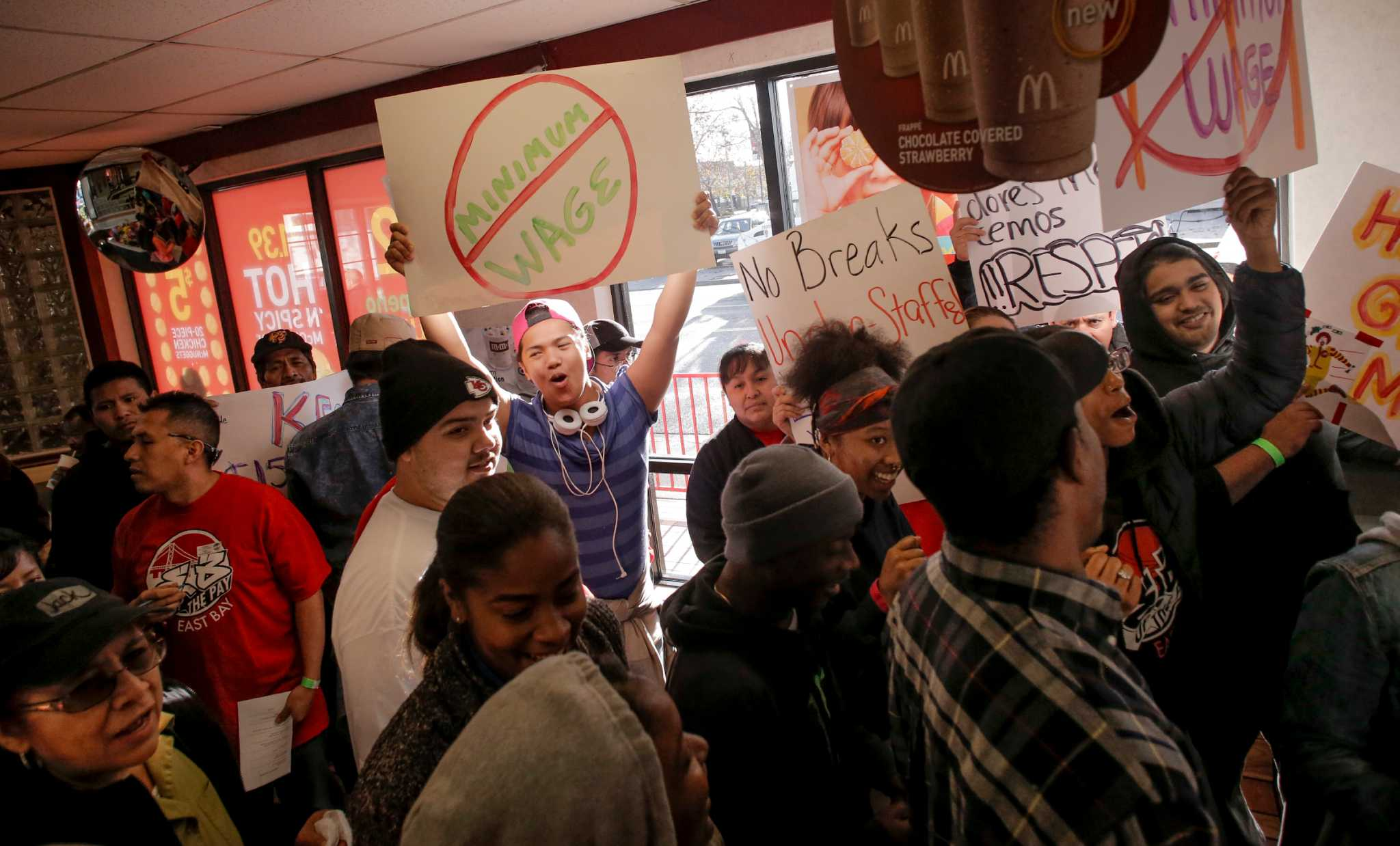 Fast food workers strike adds momentum to movement