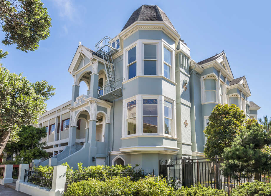 1533 Sutter St. in Lower Pacific Heights is a Queen Anne Victorian available for $6.595 million. Click here to see other listings in Lower Pac Heights. Photo: Olga Soboleva/Vanguard Propertie / ONLINE_CHECK