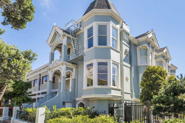 1533 Sutter St. in Lower Pacific Heights is a Queen Anne Victorian available for $6.595 million.