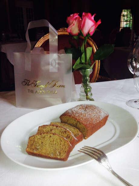 Banana Bread at French Room at the Adolphus Hotel in Dallas. (Courtesy photo) Photo: Courtesy Photo