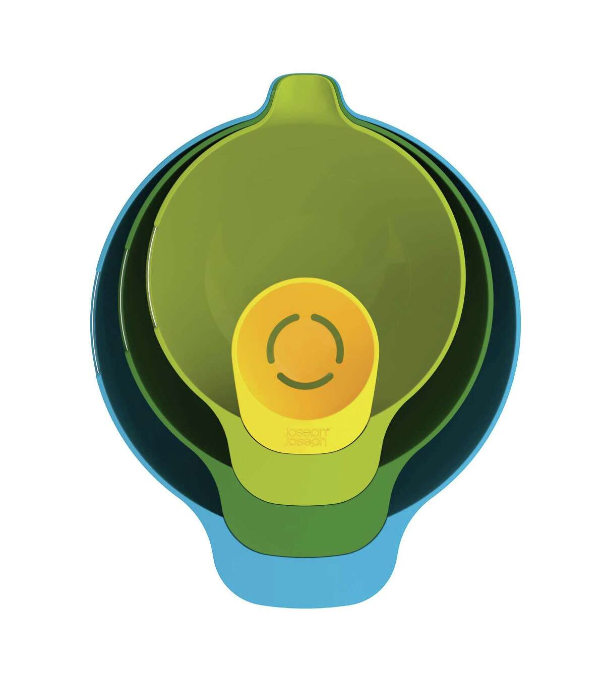 Nest Mix 4-piece mixing bowl set with egg yolk separator.