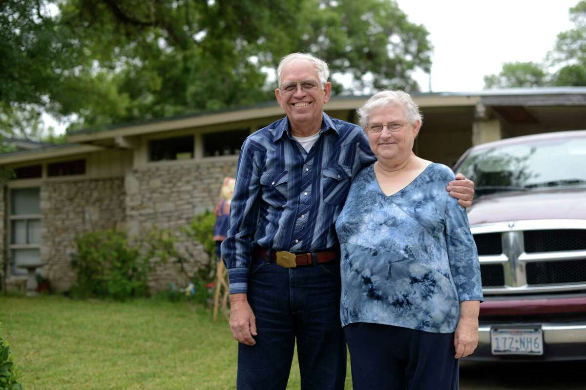 Harmony Hills residents David and Tressa Billings, shown outside their home, have sued Propel Financial Services claiming the tax-lien transfer they entered into violated Truth in Lending laws. The case is before a federal appeals court in Louisiana.