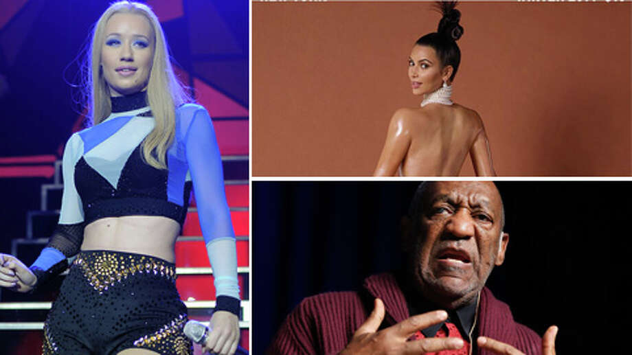 Celebrities always manage to keep our attention, even when we try very hard to ignore them. See this year's 10 most-talked-about stories in pop culture.