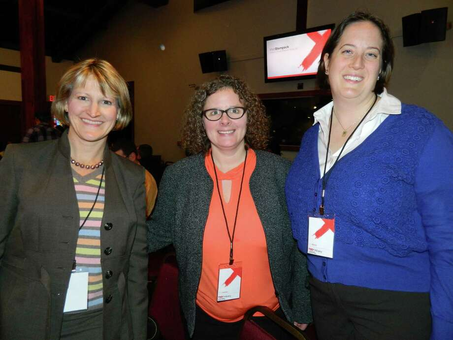 Were you Seen at the sold-out TEDxAlbany event listening to talks from 14 different experts, authors and 'all around interesting people' at Overit in Albany on Thursday, Dec. 4, 2014? Photo: Era Bushati