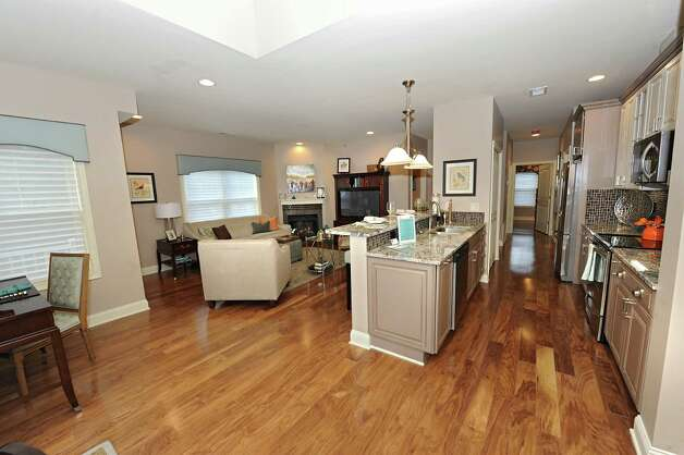 Interior of one of the units in the newly built Mill Hollow Condominiums on Thursday, Nov. 4, 2014 in Guilderland, N.Y. (Lori Van Buren / Times Union) Photo: Lori Van Buren / 00029697A