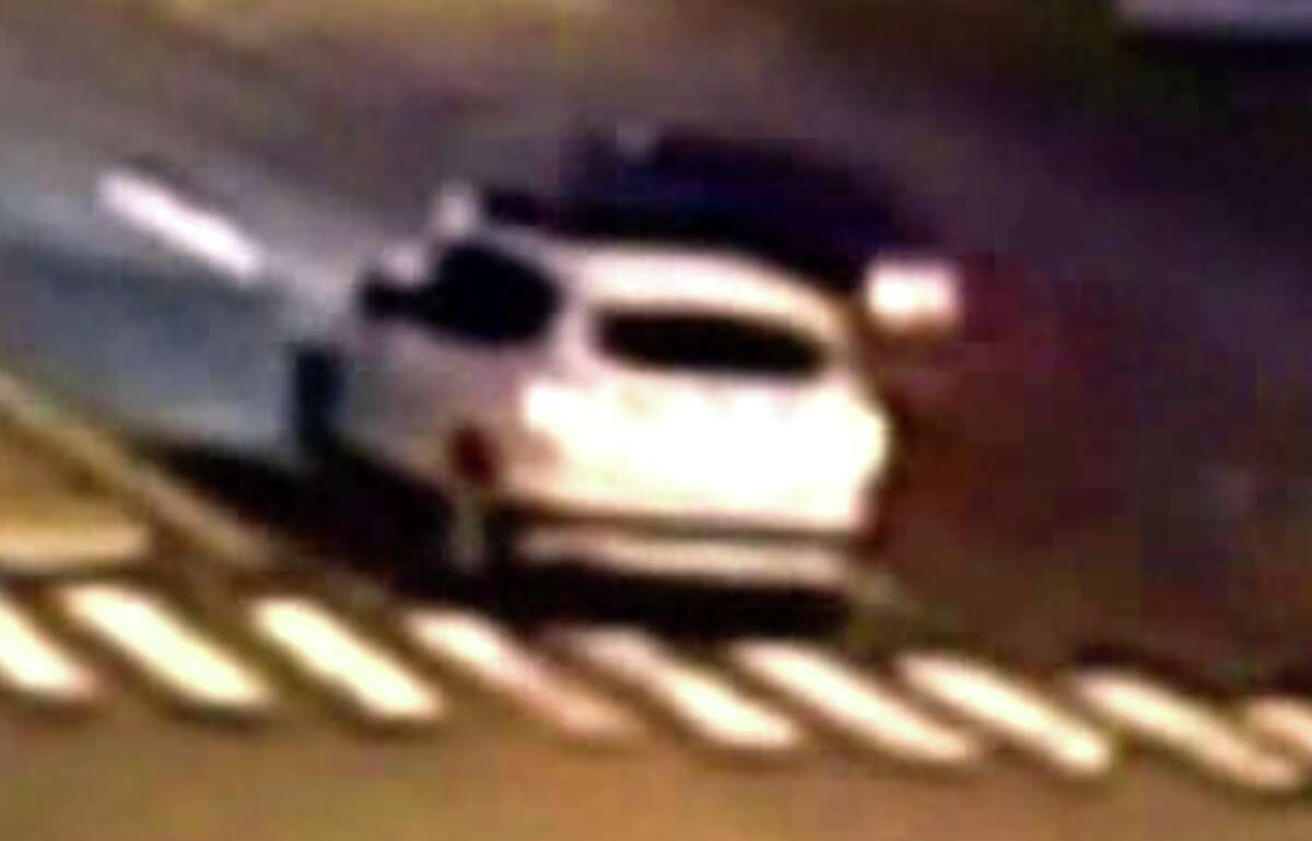 A video camera on a nearby building captured an SUV ramming Evelyn Agyei's car on Boston Avenue on Dec. 4, 2014.