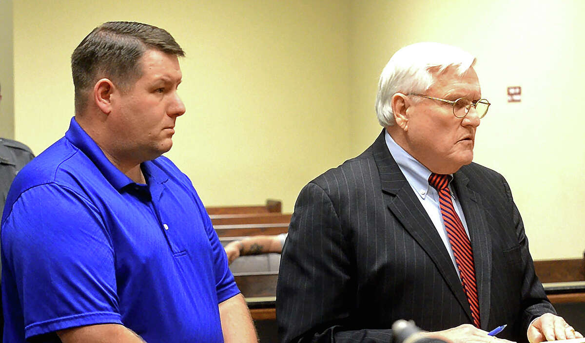 Richard Combs (left) is the former police chief and sole officer in the small town of Eutawville, S.C.