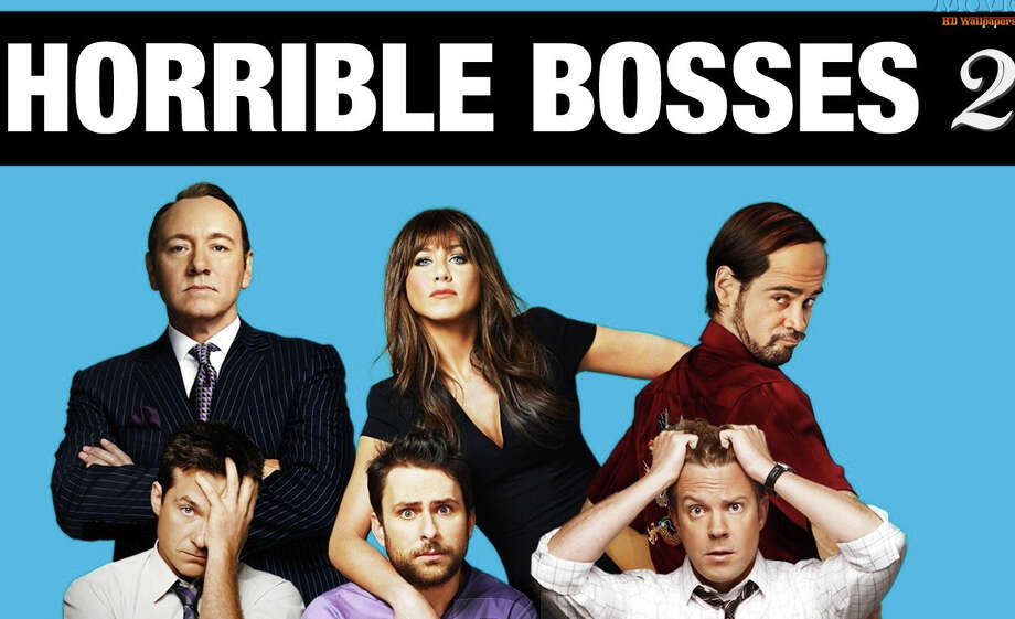 """The new movie, """"Horrible Bosses 2,"""" stars Jason Bateman, Jason Sudeikis and Charlie Day in a sequel to the 2011 comedy. Photo: Contributed Photo / Westport News"""