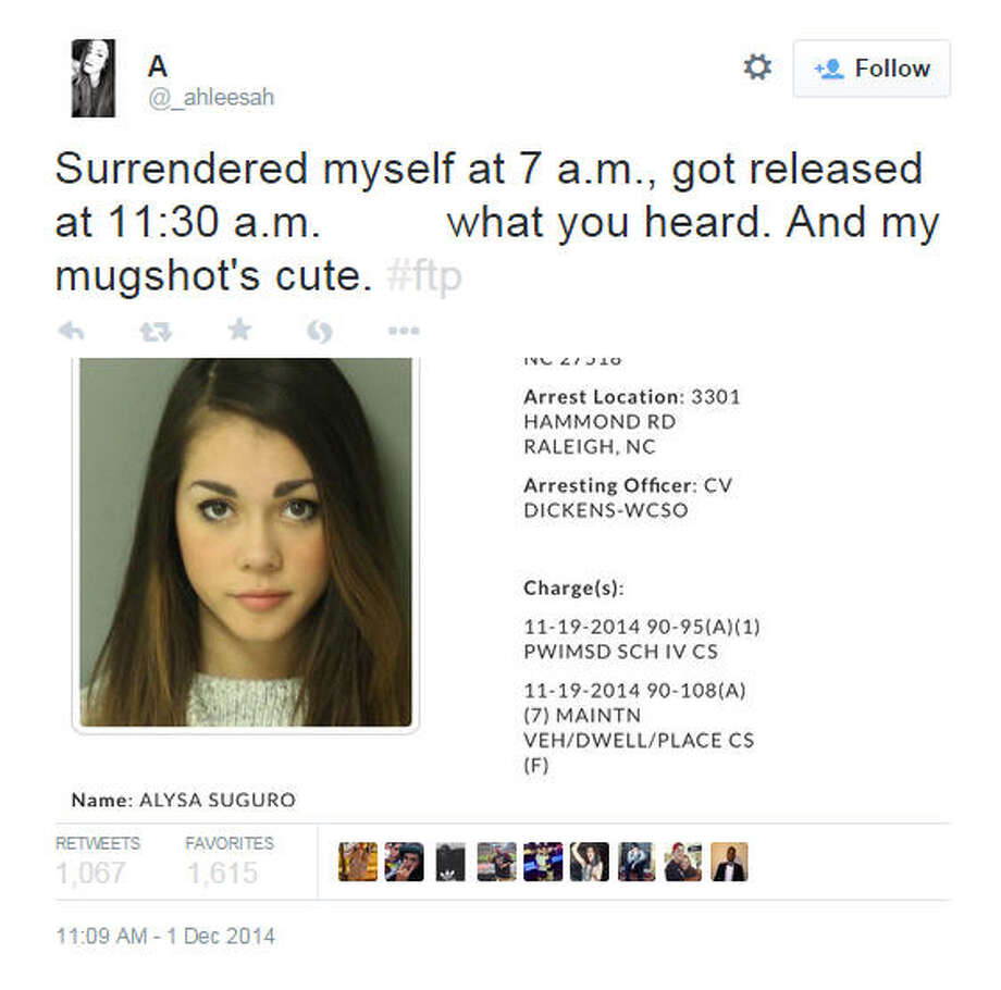 Cute Mugshot Girl Goes Viral Houston Chronicle