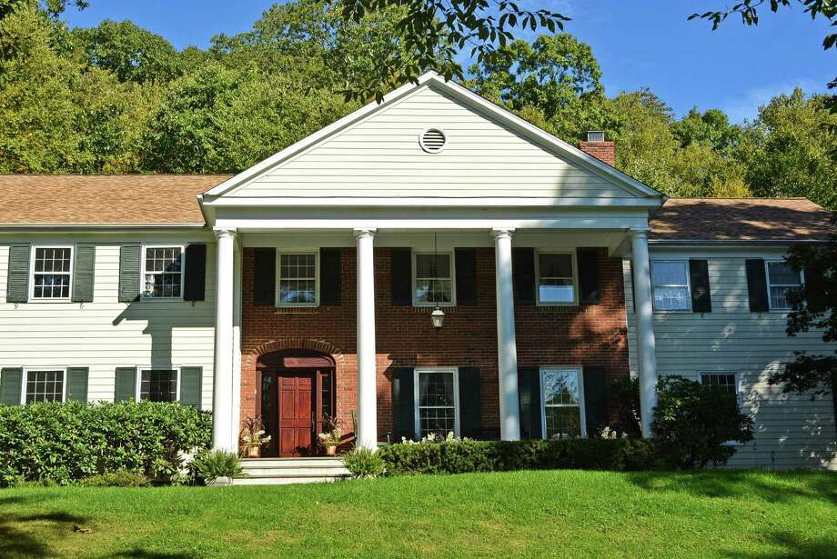The property at 1 Ogden Road is on the market for $2,365,000. Photo: Contributed Photo / New Canaan News