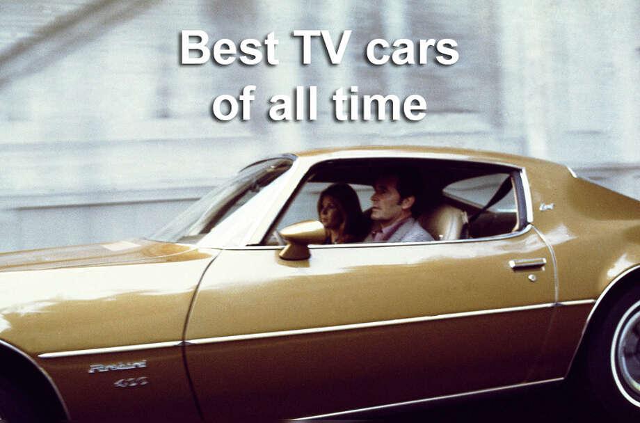"Jim Rockford's 1974 Pontiac Firebird EspritJames Garner as Jim Rockford in ""The Rockford Files"" was known for his evasive driving maneuver, the j-turn. / ? NBC Universal, Inc."