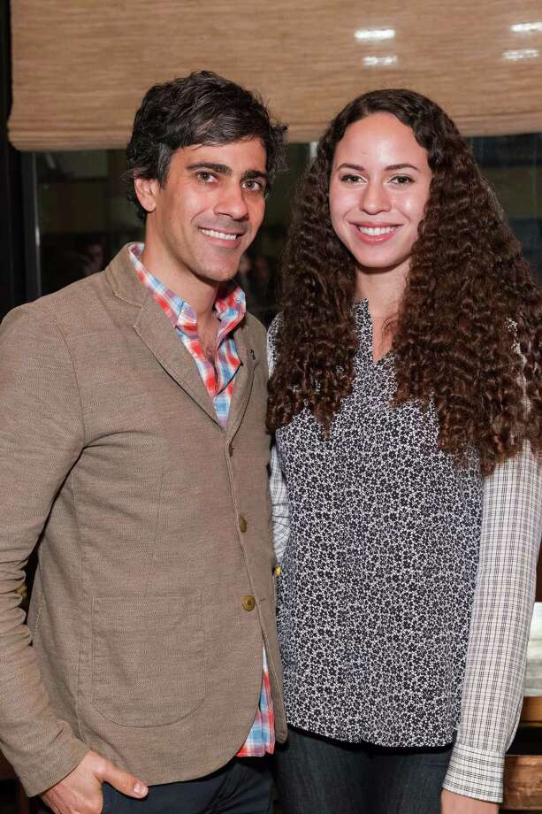 Jeremy Stoppelman and Kelcy Morton at the San Francisco FOG Design+Art Fair kickoff dinner on December 2, 2014. Photo: Drew Altizer Photography / DREW ALTIZER PHOTOGRAPHY