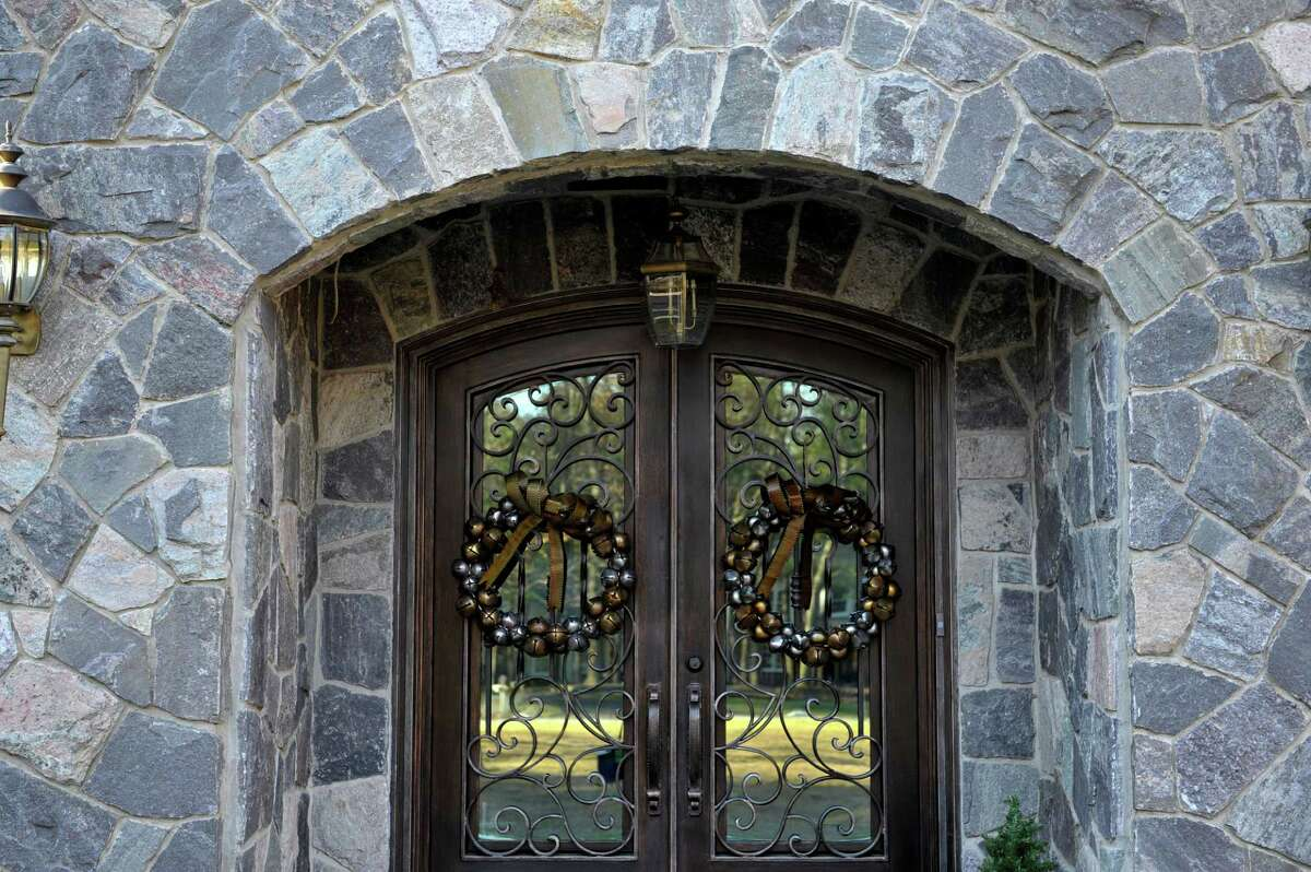 A view of the Tudor style house located at 5 Oakbrook Blvd. on Tuesday, Dec. 2, 2014, in Saratoga Springs, N.Y. (Paul Buckowski / Times Union)