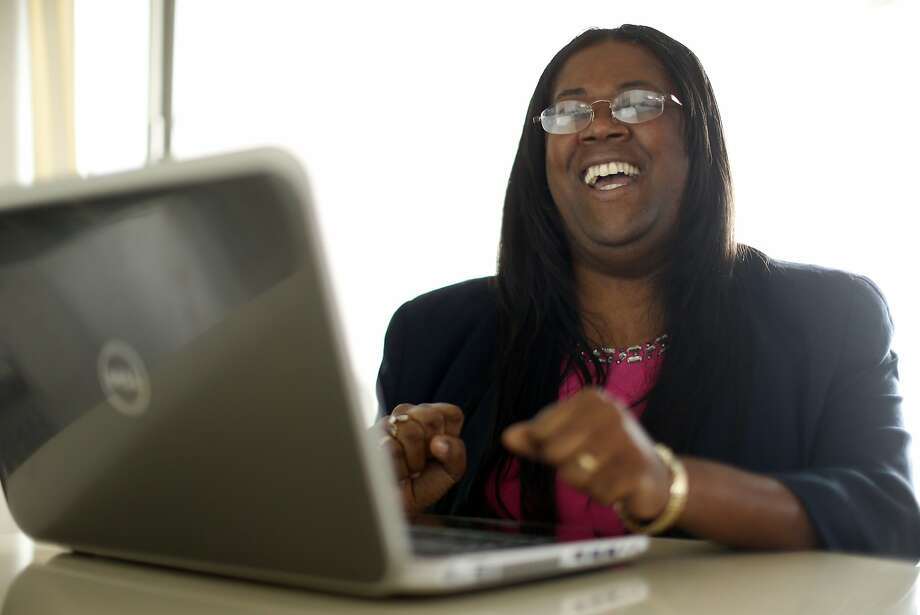 Anita Gardyne, a black female startup CEO, is struggling to access funding. Photo: Scott Strazzante, The Chronicle