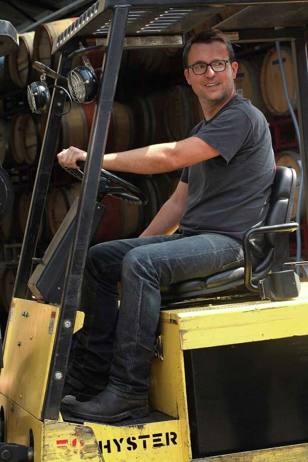 Winemaker Chris Brockway makes Vine Starr in his Berkeley facility — continuing a long tradition of Zinfandel as a fresher, approachable table wine. Photo: Liz Hafalia / The Chronicle / ONLINE_YES