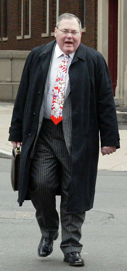 Harold James Pickerstein arrive at the federal court in downtown Hartford, Conn. on Thursday,  March 11, 2010. Photo: File Photo / Connecticut Post File Photo