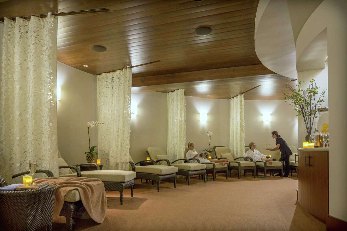 The Galvez Spa at Galveston's Hotel Galvez offers a variety of services to help customers unwind.