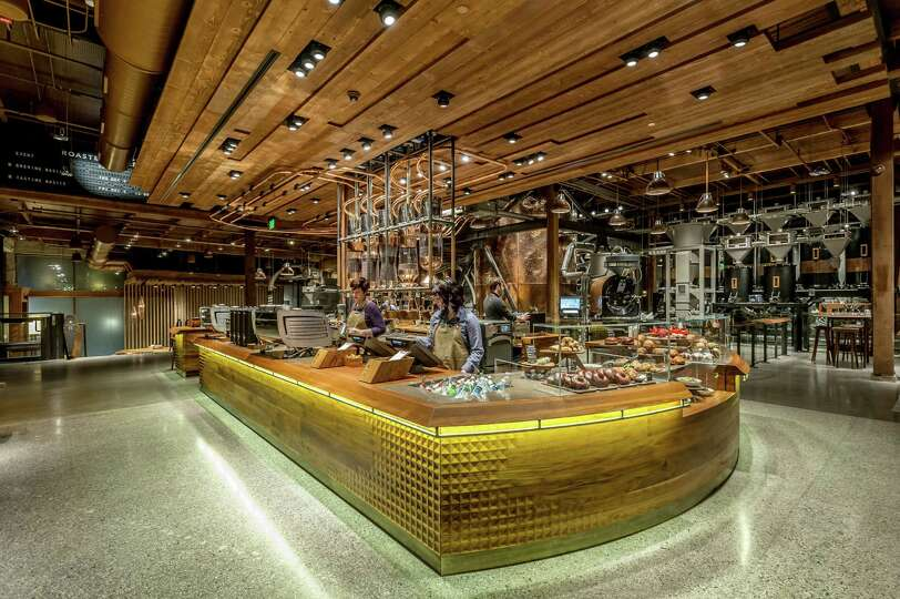 Starbucks New Reserve Roastery And Tasting Room At 1124