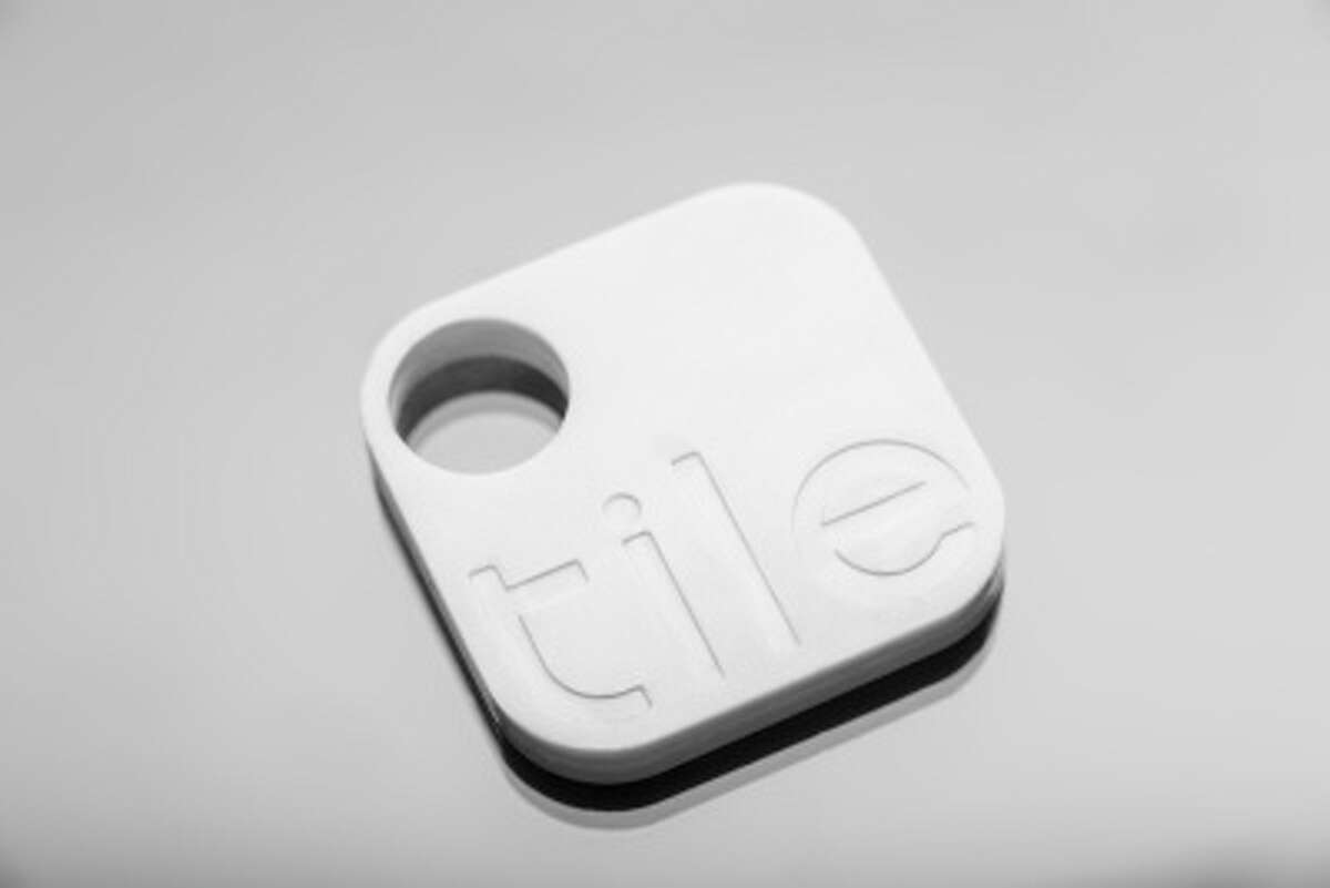 The Tile tracking gadget allows users to find their valuables with an app.