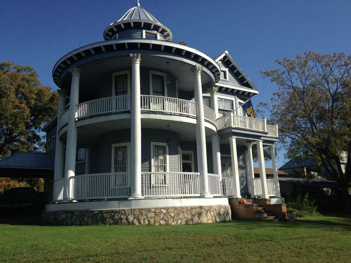 The Charles Wurzbach house in Government Hill, built in 1907, features its original hardwood floors and seven bedrooms. It will be part of the Christmas on the Hill Tour of Homes on Dec. 14.