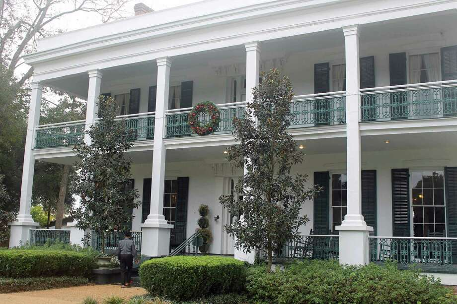 Loyd Hall Plantation in Cheneyville, La., is said to be haunted by several ghosts.  Built in 1820, the plantation is still surrounded by hundreds of acres of farmland.  Bloodstains in a third-floor room are said to be those of a Union soldier. Photo: Syd Kearney