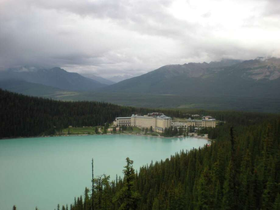 Chronicle readers Laura and Robert Diekman of Friendswood submitted this vacation photo taken at Lake Louise in Banff, Alberta, Canada Photo: Laura And Robert Diekman / Laura and Robert Diekman