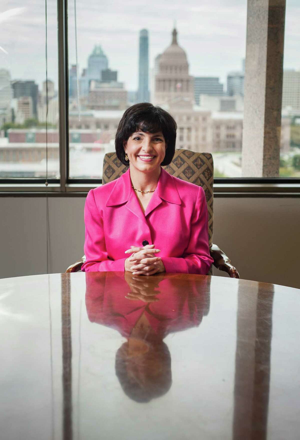 Texas Railroad Commission Chair Christi Craddick in her Austin, TX office on Thurs., Nov. 13, 2014. Ashley Landis/Special Contributor