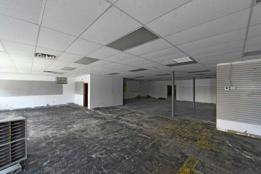 Interior view of the new building that was purchased by The Bridge Christian Church for $10K Tuesday morning, Nov. 18, 2014, at 735 Crane Street in Schenectady, N.Y. (Skip Dickstein/Times Union) ORG XMIT: MER2014120313201010