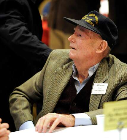 Pearl Harbor survivor William Langston in attendance at the 70th Anniversary of Pearl Harbor Day Memorial Observance held at the Zaloga Post Dec. 7, 2011,  in Albany, N.Y.  Langston was stationed on the USS West Virginia during the attack.   (Skip Dickstein / Times Union archive) Photo: SKIP DICKSTEIN / 2011