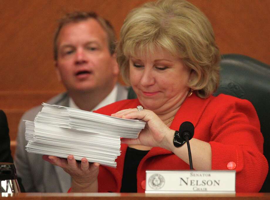 "Senate Finance Committee Chairwoman Sen. Jane Nelson sent a letter stating the Health and Human Services Commission ""should consider access to care when implementing these rate reductions. Furthermore, federal law requires that in setting Medicaid rates, states must preserve access to care."" Photo: Jerry Lara /San Antonio Express-News / ©2013 San Antonio Express-News"