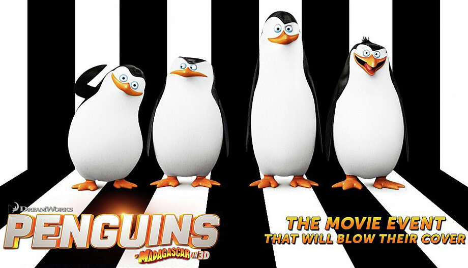 "ìPenguins of Madagascar"" is the latest installment in the animated series. Photo: Contributed Photo / Westport News"