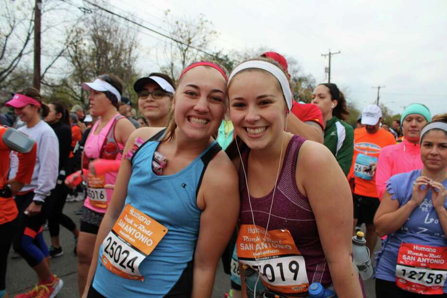 Thousands showed to watch and run in the annual Rock 'n' Marathon & 1/2 Marathon. Here are a few of the people who laced up and hit the pavement. Photo: By Yvonne Zamora, For MySA.com