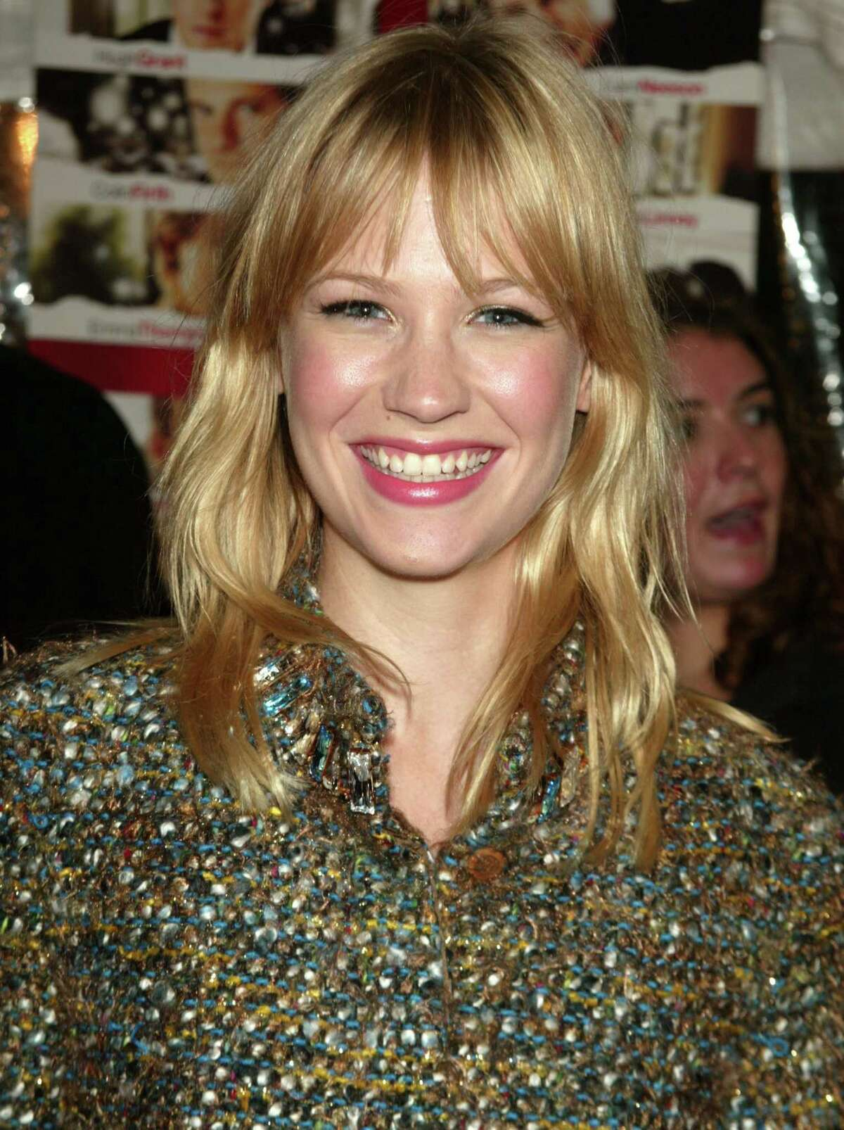 January Jones says she had the placenta dried and placed in pills.