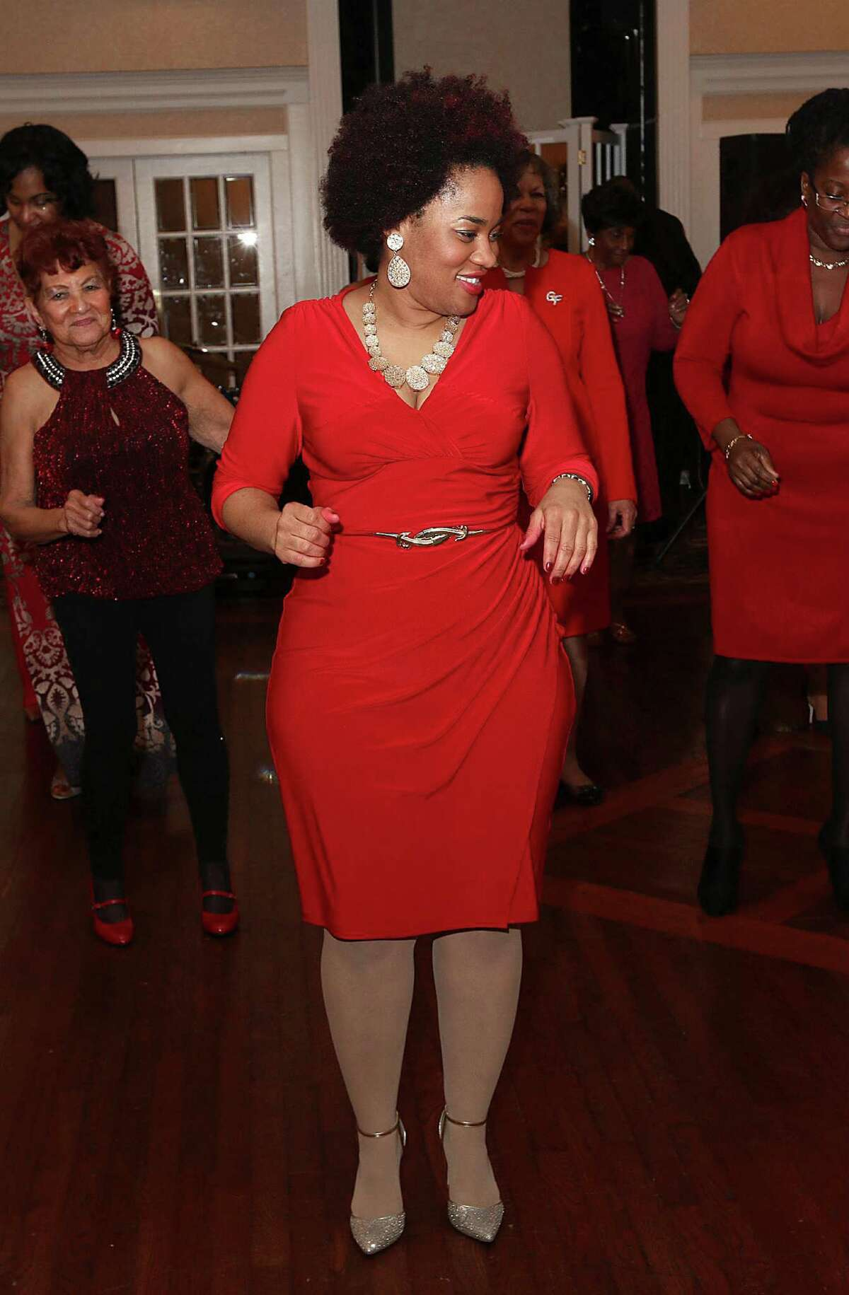 Were you seen at the Albany Chapter of Girlfriends Inc. 22nd annual Paint the Town Red fundraiser, to benefit the American Diabetes Association, at Glen Sanders Mansion in Scotia on Sunday, Dec. 7, 2014?