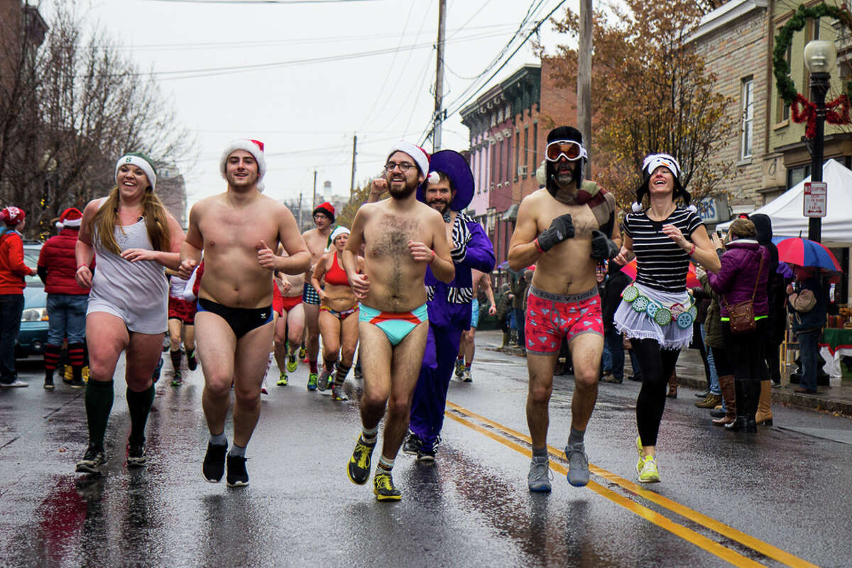 10th Annual Santa Speedo Sprint. Proceeds benefit the Albany Damien Center and the HIV/AIDS program at Albany Medical Center. When: Saturday, Dec. 12, 11 a.m - 3:30 p.m.Where: Lark Street, Albany. For more info and to register, click here.
