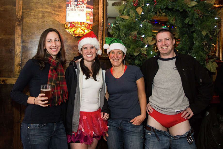 Were You Seen at Winter WonderLARK and the 9th Annual Santa Speedo Sprint on Lark Street in Albany to benefit the Albany Damien Center and the HIV/AIDS program at the Albany Medical Center on Saturday, December 6, 2014? Photo: Brian Tromans