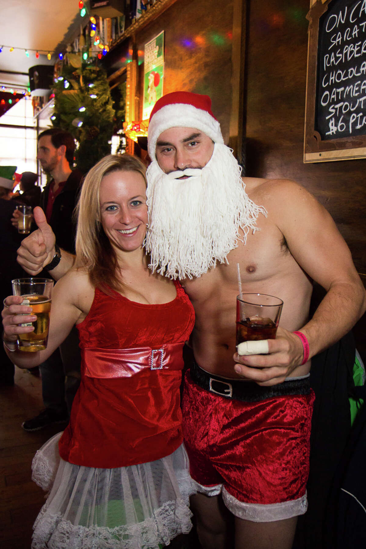 Were You Seen at Winter WonderLARK and the 9th Annual Santa Speedo Sprint on Lark Street in Albany to benefit the Albany Damien Center and the HIV/AIDS program at the Albany Medical Center on Saturday, December 6, 2014?