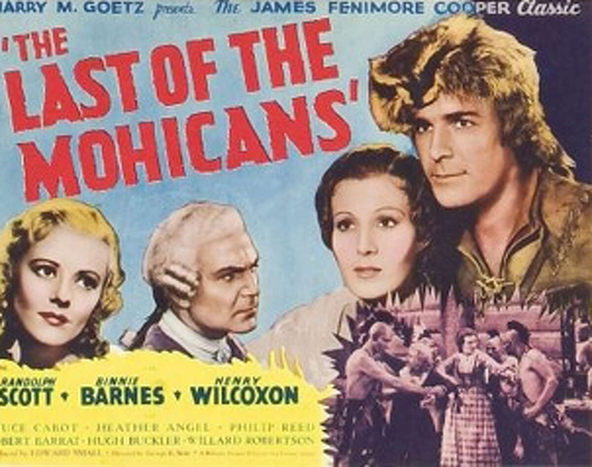 The Last of the Mohicans, 1911. This silent film, based off of James Fenimore Cooper's novel, was filmed in Lake George. Source: Lake George Mirror.