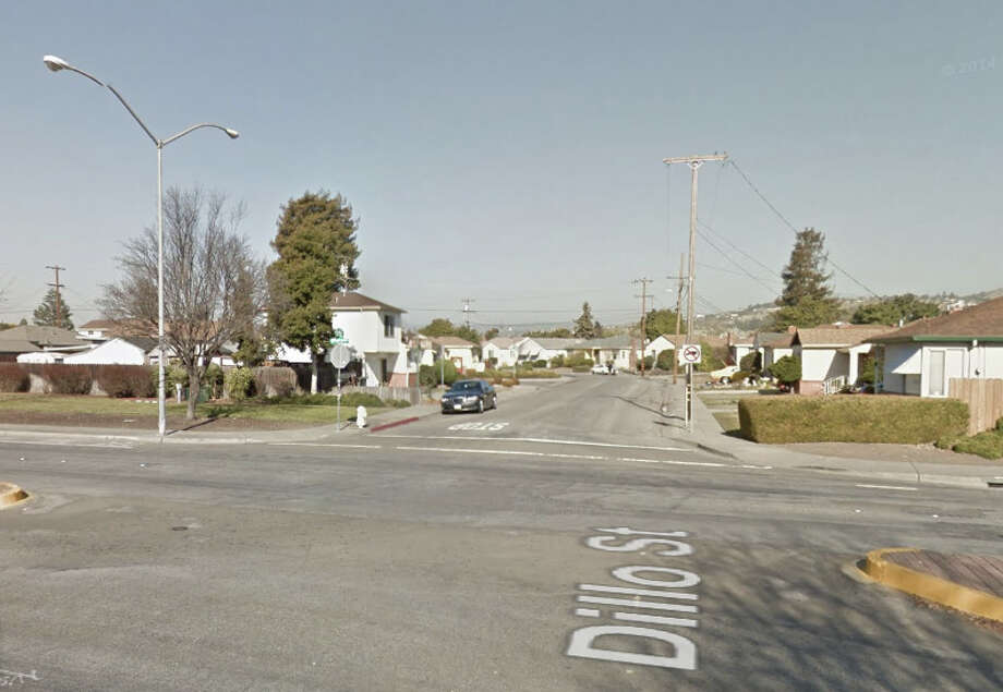 Halcyon Drive and Dillo Street, San Leandro, CA Photo: Google Maps