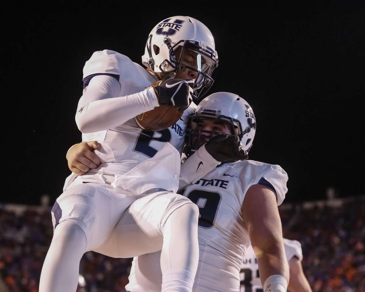 Saturday, Dec. 20 Gildan New Mexico Bowl in Albuquerque, 1:20 p.m. (ESPN)  UTEP (plus 10½) vs. Utah State  Why watch? Brothers Zach and Nick Vigil play linebacker for Utah State and have combined for 181 tackles. Every time a Vigil makes a tackle, take a sip of your favorite beverage. We would suggest Dr Pepper if you plan to watch the second half.