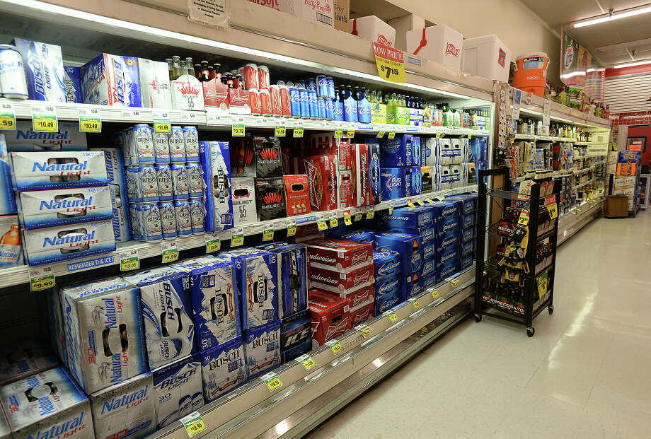 A change in laws will allow businesses in Mauriceville to sell beer starting next year. For years, David Moore, president of the Crawdad's convenience store, has watched would-be customers drive across the street to the Market Basket on TX 62 to purchase alcohol, prompting him to spearhead the ballot initiative to change the alcohol laws.  Photo taken Friday, December 5, 2014  Kim Brent/The Enterprise Photo: KIM BRENT / Beaumont Enterprise