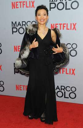 "Actress Joan Chen attends the ""Marco Polo"" series premiere in New York."