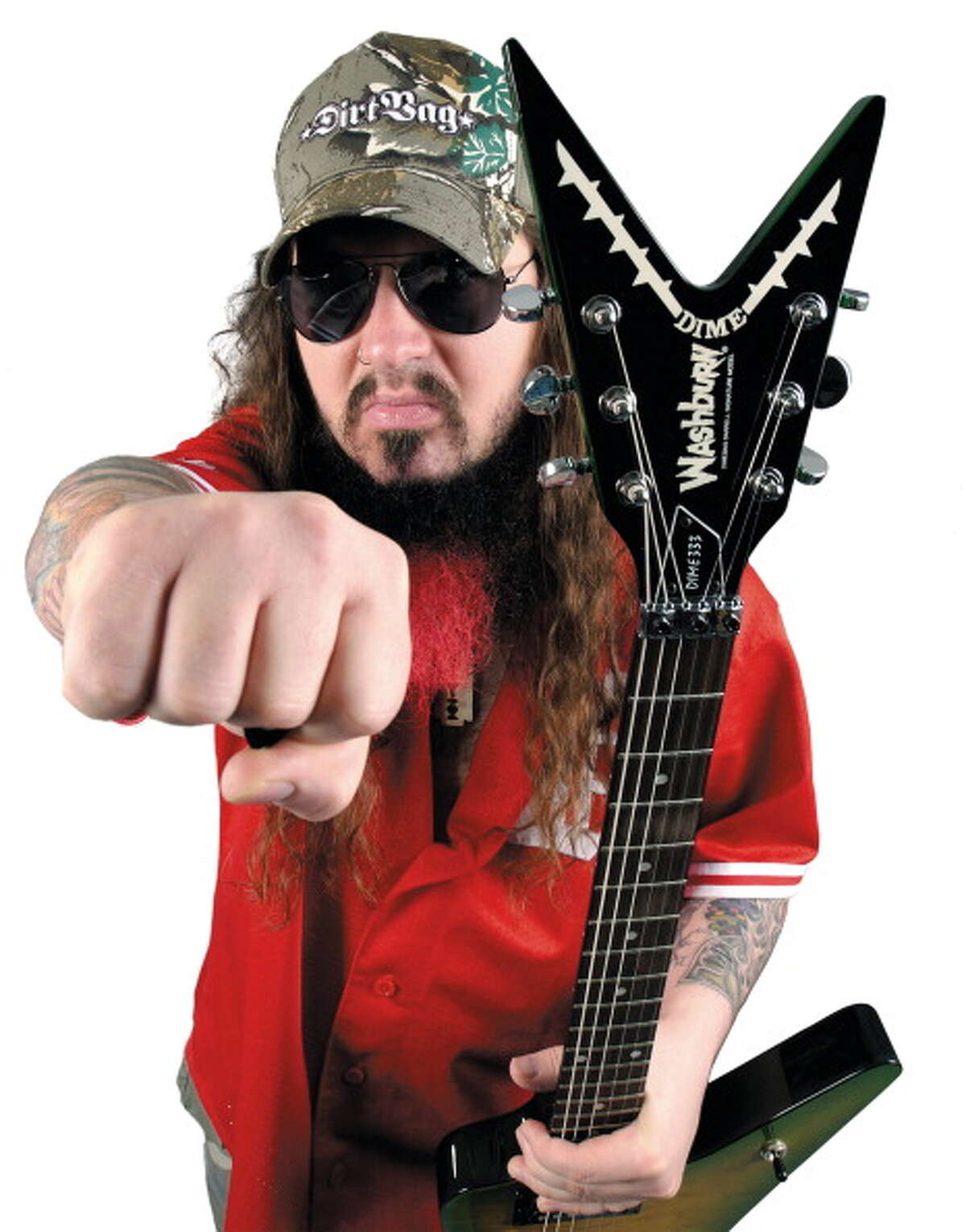 Dimebag Darrell Abbott The influential metal guitarist, who was shot and killed onstage in 2004, is buried at the Moore Memorial Gardens Cemetery in Arlington.