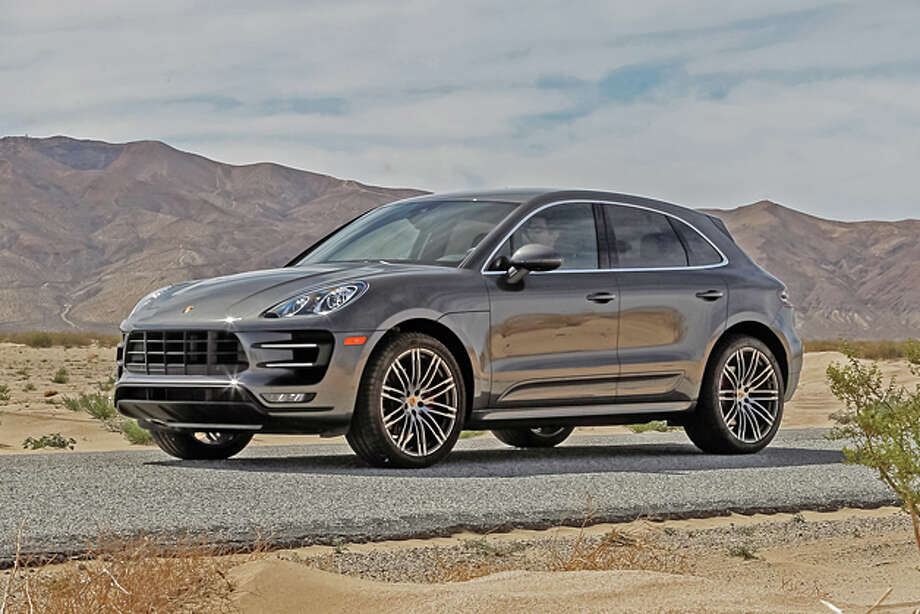 2015 Porsche Macan Turbo, listed at $72,300.