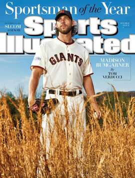 Sports Illustrated's 2014 Sportsman of the Year, Madison Bumgarner
