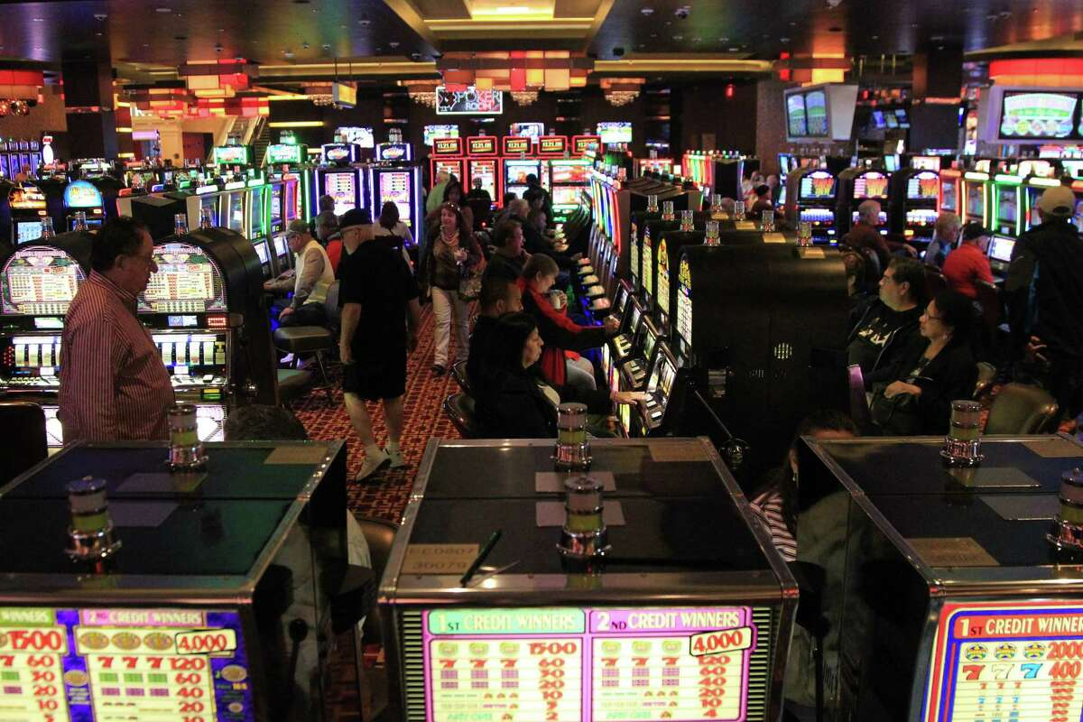 Go inside the new Golden Nugget Hotel & Casino in Lake Charles ... Guests play the slot machines at the new Golden Nugget Hotel & Casino in Lake Charles, La.