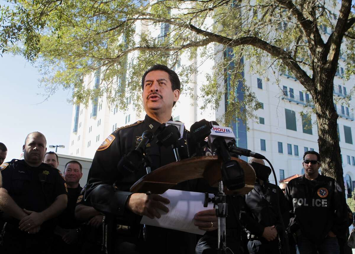 Adrian Garcia:The Harris County Sherriff would likely rise quickly to the top of the field if he entered the race, but he would have to resign his job as the county's top cop.